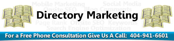 Directory Submissions Marketing Atlanta Georgia